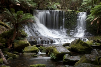Beautiful Waterfall, Tasmania