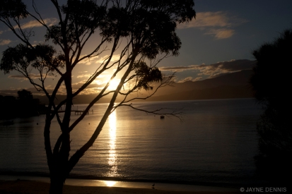 Sunset South Arm, Tasmania